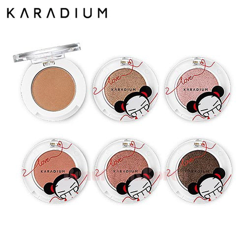 KARADIUM Shine Eye Shadow 1.6g [Pucaa Love Edition]